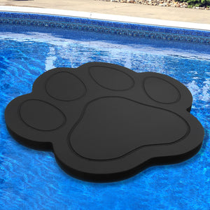 Floating Paw Print Lounging Pool Float 40""