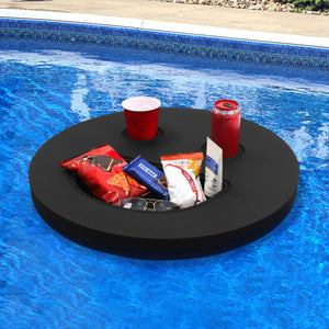 Floating Smiley Face Refreshment Tray Pool Float