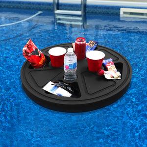 Floating Orange Slice Refreshment Tray Pool Float