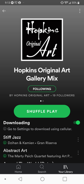 Check out our Hopkins Original Art Gallery playlist on Spotify!