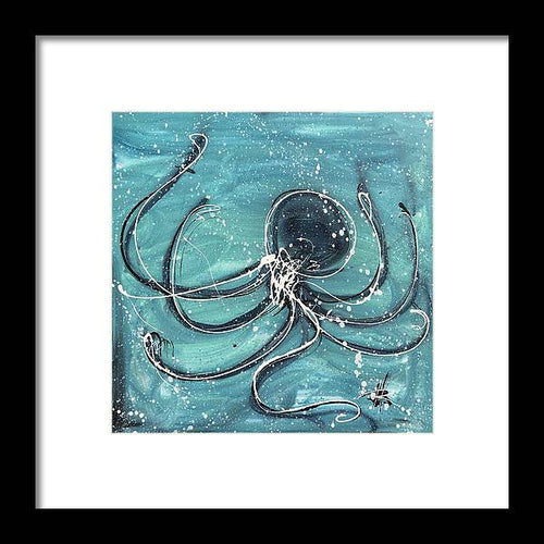 Octopus - Framed Print
