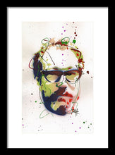 Load image into Gallery viewer, Portrait Of Julian Schnabel - Framed Print