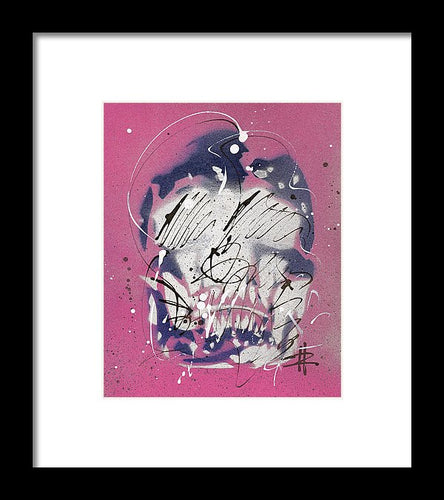 Skull III - Framed Print by Ryan Hopkins