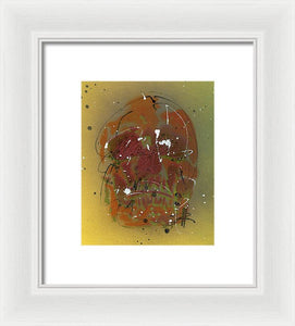 Skull IV - Framed Print by Ryan Hopkins