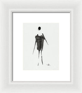 All Wet - Framed Print