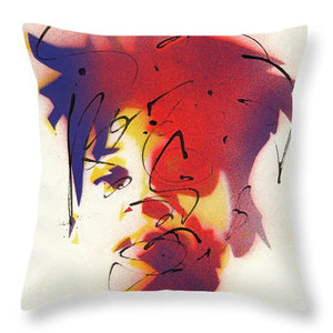 Portrait Of Jean Michel Basquiat - Throw Pillow