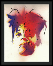 Load image into Gallery viewer, Portrait Of Jean Michel Basquiat - Framed Print