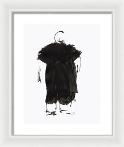 Big Poppa - Framed Print