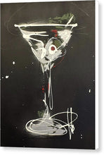 Load image into Gallery viewer, Black Martini I - Canvas Print