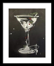Load image into Gallery viewer, Black Martini I - Framed Print