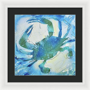 Blue Crab I - Framed Print