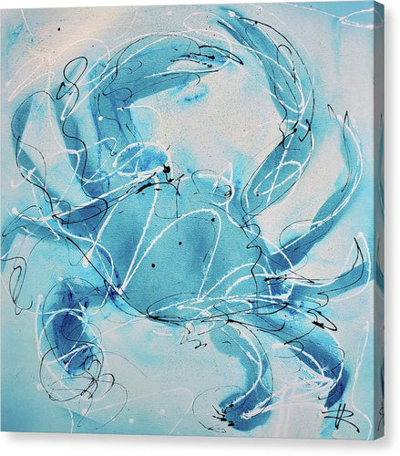 Blue Crab II - Canvas Print