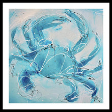 Load image into Gallery viewer, Blue Crab II - Framed Print