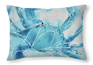 Blue Crab II - Throw Pillow