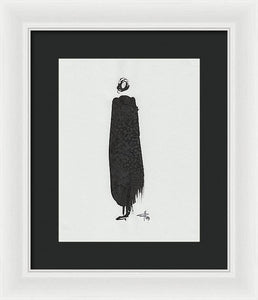Cape - Framed Print
