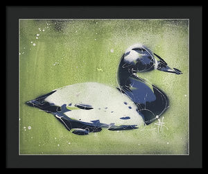 Chesapeake Decoy IV - Framed Print