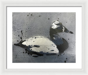 Chesapeake Decoy V - Framed Print