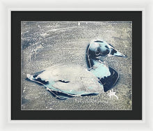 Load image into Gallery viewer, Chesapeake Decoy VIII - Framed Print