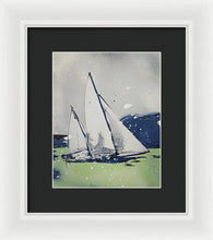 Load image into Gallery viewer, Chesapeake Log Canoe I - Framed Print