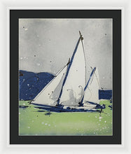 Load image into Gallery viewer, Chesapeake Log Canoe II - Framed Print