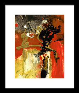 Chi I - Abstract Framed Print by Ryan Hopkins