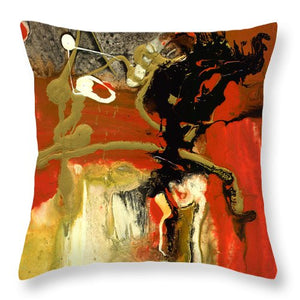 Chi I - Throw Pillow by Ryan Hopkins