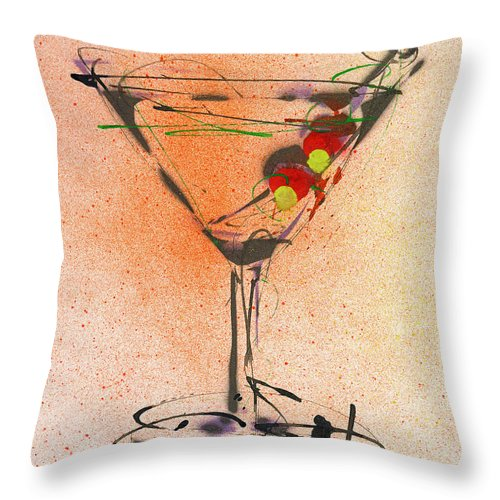 Cocktail #2 - Throw Pillow