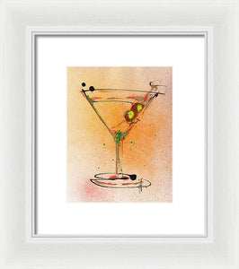 Cocktail #3 - Framed Print