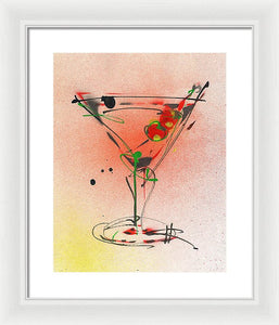 Cocktail #4 - Framed Print