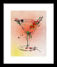 Load image into Gallery viewer, Cocktail #4 - Framed Print