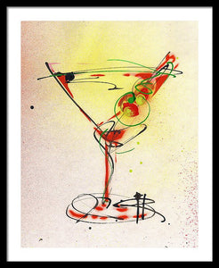 Cocktail #6 - Framed Print