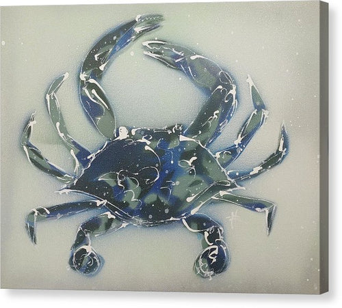 Crabstract I - Canvas Print