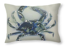 Load image into Gallery viewer, Crabstract I - Throw Pillow
