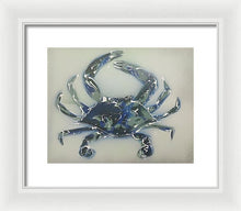 Load image into Gallery viewer, Crabstract I - Framed Print