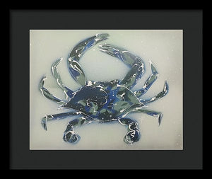 Crabstract I - Framed Print