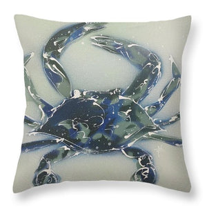 Crabstract I - Throw Pillow