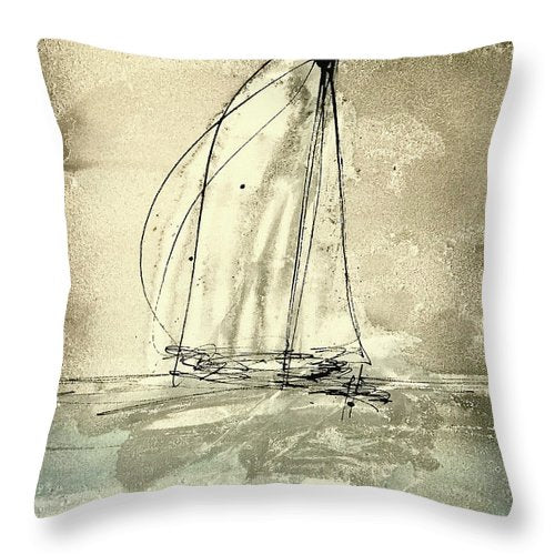 Crystal Clear - Throw Pillow