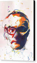 Load image into Gallery viewer, Portrait of Damien Hirst II- Canvas Print by Ryan Hopkins