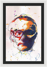 Load image into Gallery viewer, Portrait of Damien Hirst II - Framed Print by Ryan Hopkins