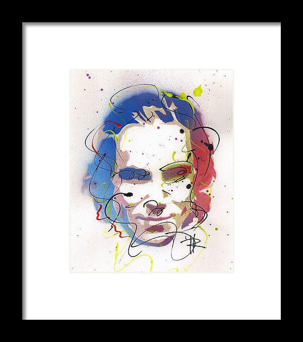 Daniel Day Lewis - Framed Print