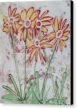 Load image into Gallery viewer, Happy Flowers - Canvas Print