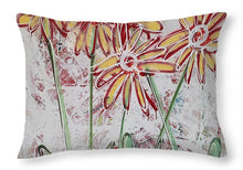 Load image into Gallery viewer, Happy Flowers - Throw Pillow