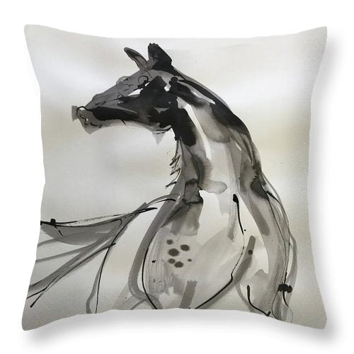 Horsepower - Throw Pillow