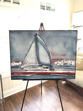 Load image into Gallery viewer, Quiet Harbor - Original Painting by Ryan Hopkins