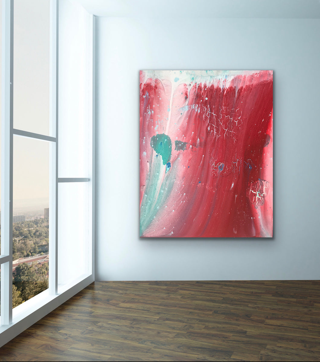 Red Tide - Original Painting by Ryan Hopkins