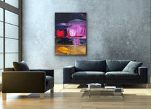 Load image into Gallery viewer, Matter Vs. Space - Original Painting by Ryan Hopkins