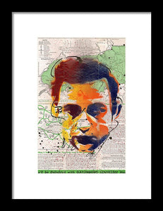 Johnny Cash - Gatlinburg Tennessee - Framed Print