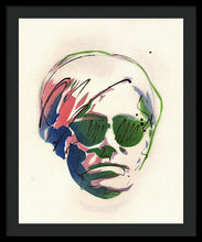 Load image into Gallery viewer, Portrait Of Andy Warhol #2 - Framed Print
