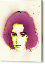 Load image into Gallery viewer, Portrait Of Elizabeth Taylor - Canvas Print