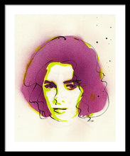 Load image into Gallery viewer, Portrait Of Elizabeth Taylor - Framed Print
